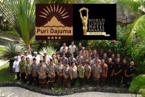 DAJUMA REWARDED BY THE « WORLD LUXURY HOTELS ORGANISATION » Puri Dajuma, Beach Eco-Resort & Spa, West Bali