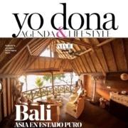 Dajuma illustrates Bali in Yo Donna magazine Puri Dajuma, Beach Eco-Resort & Spa, West Bali