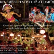 DECEMBER FESTIVITIES AT DAJUMA Puri Dajuma, Beach Eco-Resort & Spa, West Bali