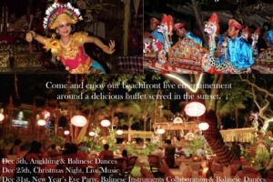 DECEMBER FESTIVITIES AT DAJUMA Puri Dajuma, Beach Eco-Resort & Spa, West Bali