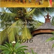 Happy New Year ! Puri Dajuma, Beach Eco-Resort & Spa, West Bali