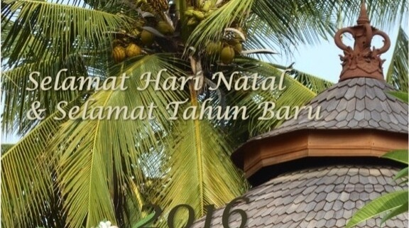 Happy New Year ! Puri Dajuma, Beach Eco-Resort & Spa, West Bali