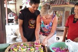 OFFERINGS TO THE GODS Puri Dajuma, Beach Eco-Resort & Spa, West Bali