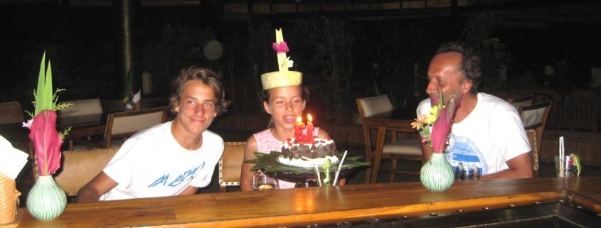 SURPRISE BIRTHDAY FOR ANNA! Puri Dajuma, Beach Eco-Resort & Spa, West Bali