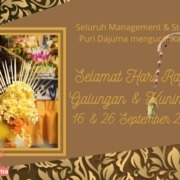 Galungan & Kuningan - A Time for Family Gathering