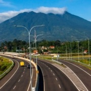 BALI HIGHWAY PROJECT IN PROGRESS