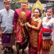 Happy Wedding Wayan, Congratulations, Bulleh and Family