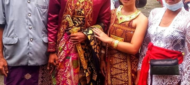 Happy Wedding Wayan, Congratulations, Bulleh and Family