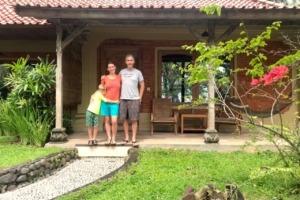Happy quarantine at Dajuma for Lucas's family