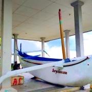 Praho under repair in Dajuma