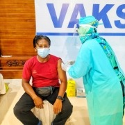 The vaccine arrived in Dajuma
