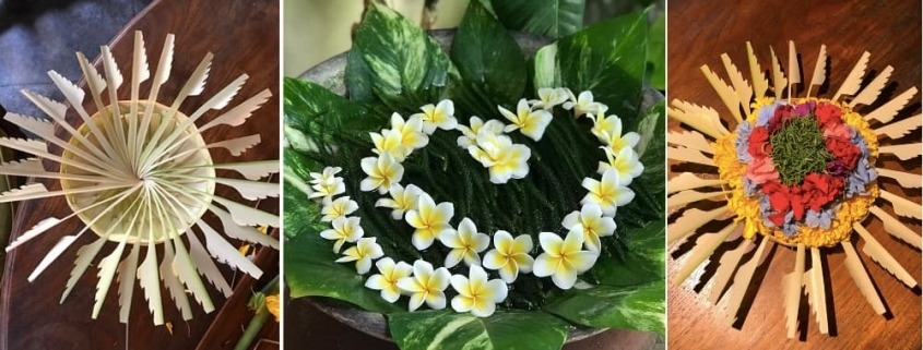 THE TRADITION OF FLORAL DECORATION IN BALI