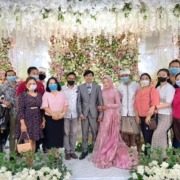 CONGRATULATIONS TO ZEKIN AND MELINDA ON THEIR WEDDING