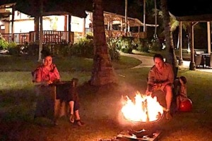 WHY NOT A BONFIRE ON HOLIDAY