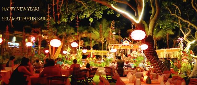 Happy New Year - Selamat Tahun Baru! Puri Dajuma, Beach Eco-Resort & Spa, West Bali