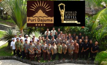 DAJUMA REWARDED BY THE « WORLD LUXURY HOTELS ORGANISATION » Puri Dajuma, Beach Eco-Resort & Spa, West Bali 1