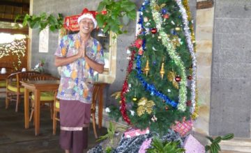 Celebrating Christmas Puri Dajuma, Beach Eco-Resort & Spa, West Bali 1
