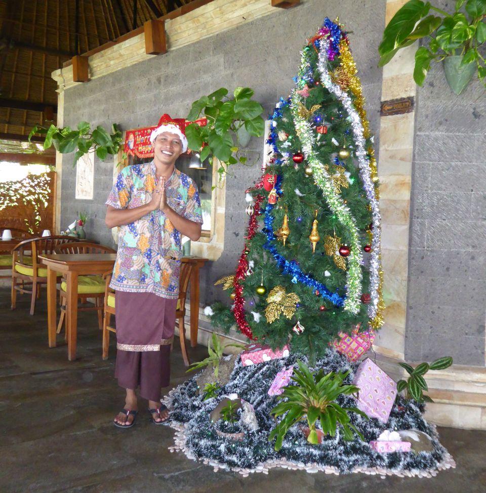 Celebrating Christmas Puri Dajuma, Beach Eco-Resort & Spa, West Bali