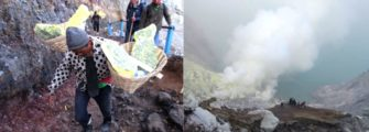 Hiking Ijen volcano Puri Dajuma, Beach Eco-Resort & Spa, West Bali Java Nature Tours