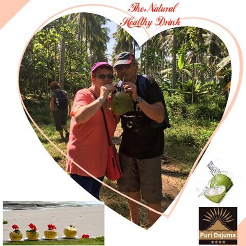 HEALTHY DRINKS AT DAJUMA Puri Dajuma, Beach Eco-Resort & Spa, West Bali
