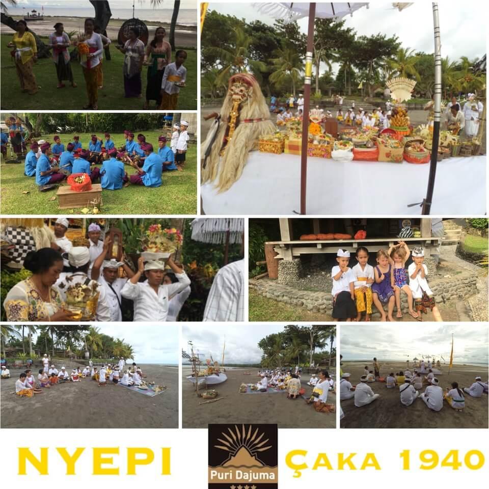 NYEPI & MELASTI at DAJUMA Puri Dajuma, Beach Eco-Resort & Spa, West Bali Bali Culture Dajuma