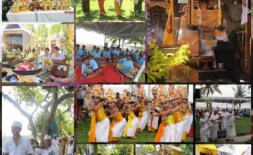 CELEBRATION OF DAJUMA TEMPLE Puri Dajuma, Beach Eco-Resort & Spa, West Bali culture bali