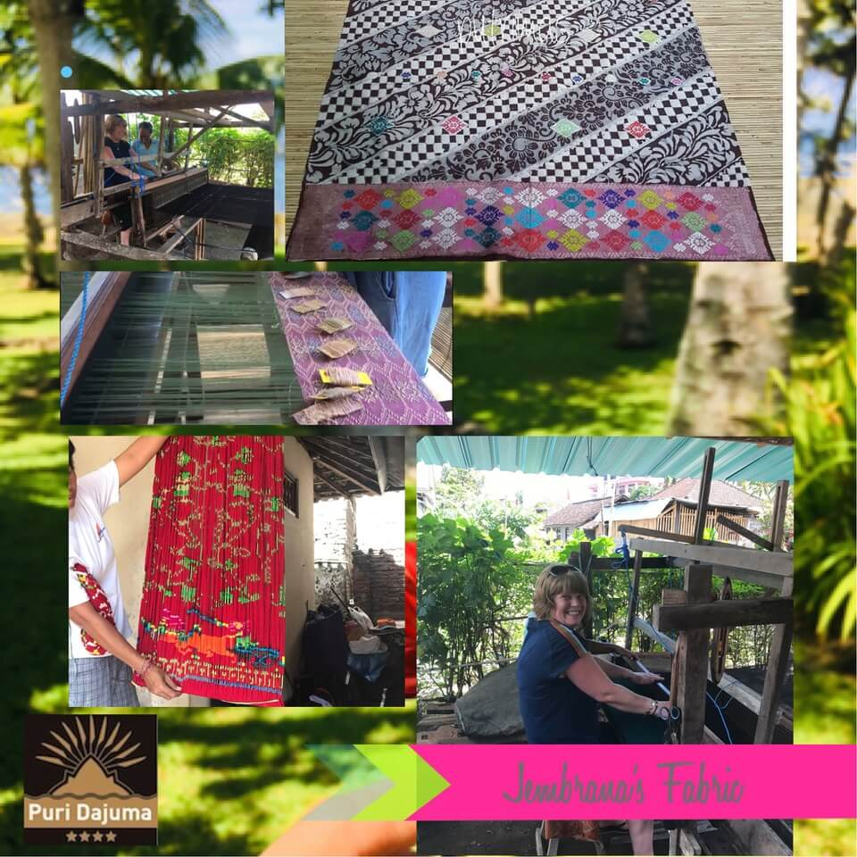 Wonderful Fabric from Bumi Mekepung Puri Dajuma, Beach Eco-Resort & Spa, West Bali