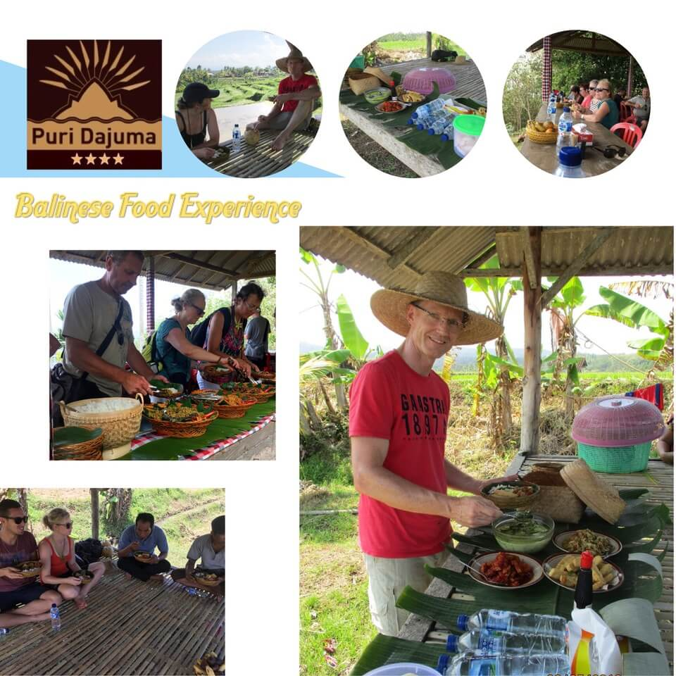 Dajuma Experience: Genuine Balinese Food Puri Dajuma, Beach Eco-Resort & Spa, West Bali