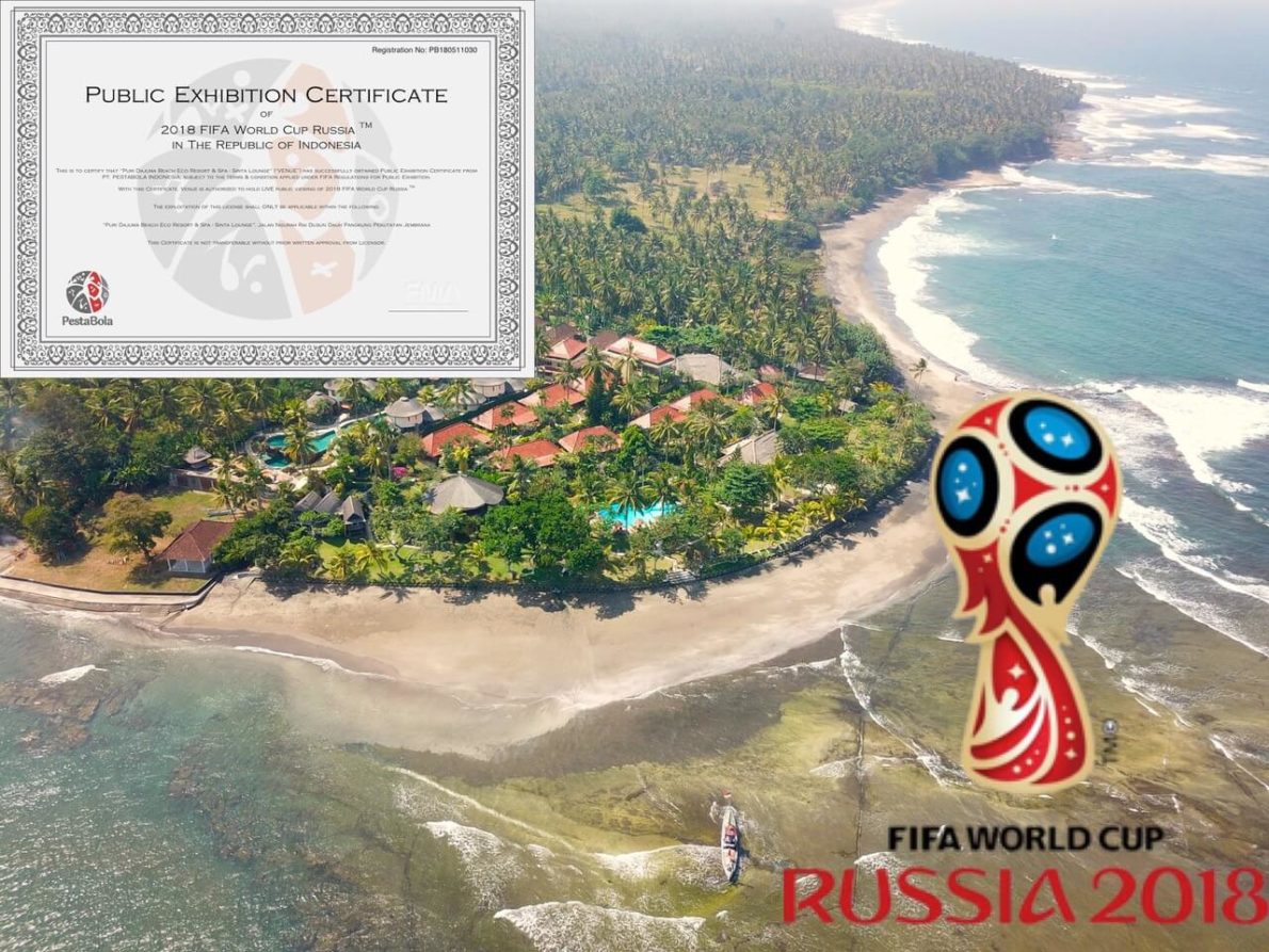 DAJUMA READY FOR THE FIFA WORLD CUP! Puri Dajuma, Beach Eco-Resort & Spa, West Bali