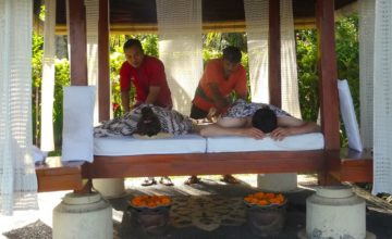 GAZEBO MASSAGE Puri Dajuma, Beach Eco-Resort & Spa, West Bali