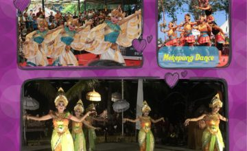 ORIGINAL DANCES FROM WEST BALI: A MUST! Puri Dajuma, Beach Eco-Resort & Spa, West Bali