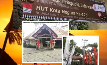 Indonesian Independence Day & Negara City Anniversary Puri Dajuma, Beach Eco-Resort & Spa, West Bali