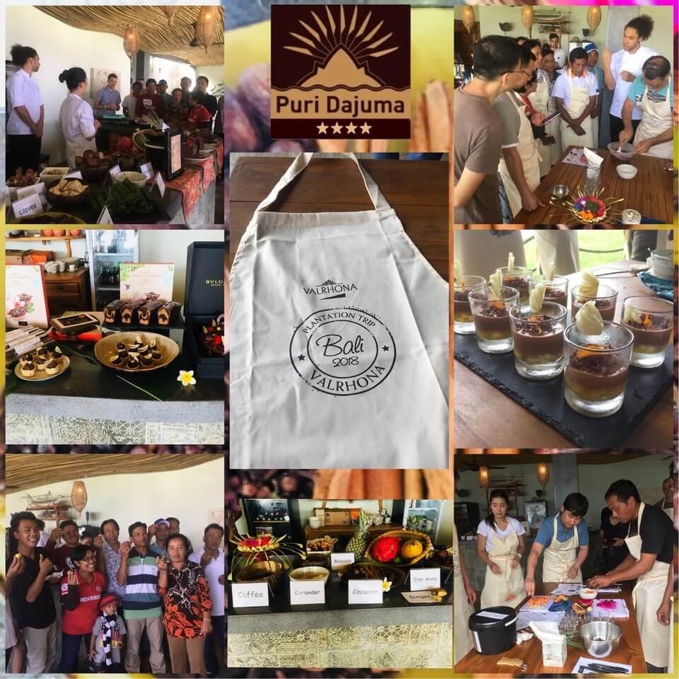 Cacao from West Bali and VALRHONA Puri Dajuma, Beach Eco-Resort & Spa, West Bali cacao chocolate