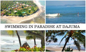 DAJUMA BEACHES Puri Dajuma, Beach Eco-Resort & Spa, West Bali swimming sea ocean beach surfing sport paddle