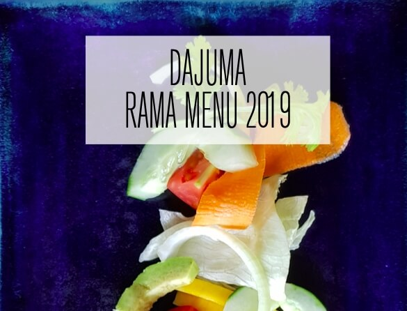 NEW MENUS 2019 Puri Dajuma, Beach Eco-Resort & Spa, West Bali