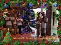 MERRY CHRISTMAS & HAPPY GALUNGAN