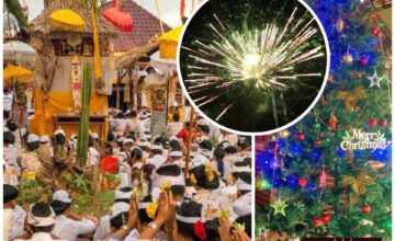 YEAR END FESTIVITIES AT DAJUMA Puri Dajuma, Beach Eco-Resort & Spa, West Bali 1