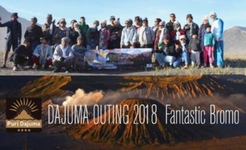 DAJUMA OUTING 2018 Puri Dajuma, Beach Eco-Resort & Spa, West Bali bromo east java tours