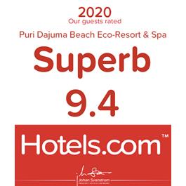Hotels.com 2020 Puri Dajuma, Beach Eco-Resort & Spa, West Bali