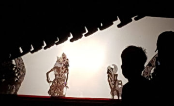 "A ""WAYANG KULIT"" SHOW TO CELEBRATE KETUT Puri Dajuma, Beach Eco-Resort & Spa, West Bali"