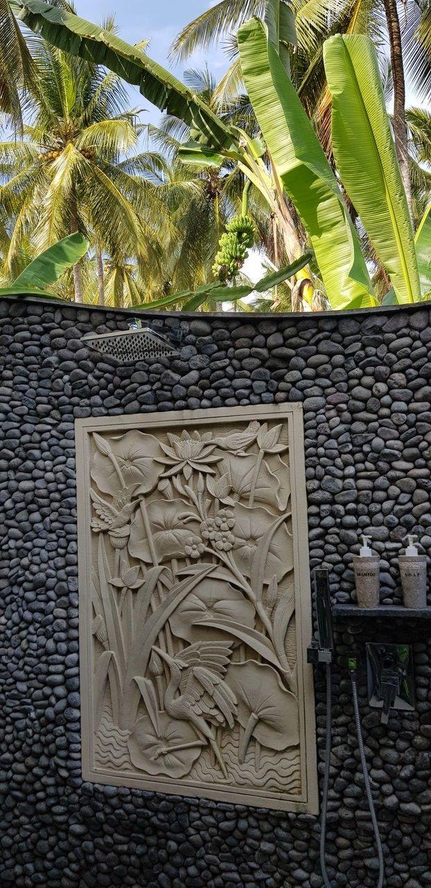 BATHROOM DREAM Puri Dajuma, Beach Eco-Resort & Spa, West Bali