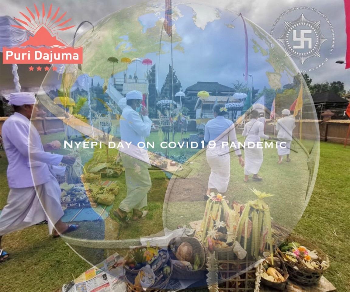 NYEPI NOT AS USUAL THIS YEAR Puri Dajuma, Beach Eco-Resort & Spa, West Bali